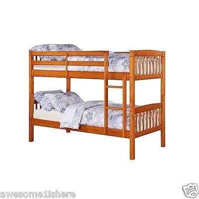 Cheap Bunk Beds On Sale For Girls Boys Kids Twin Pine Discount Bedroom Furniture