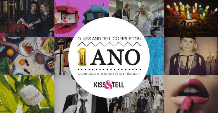 Parabéns pequeno blog! #kissandtell #omeutrabalho #lifestyle #ilovemyjob #blog #1ano #firtsyearkissandtell #newblog #birthday