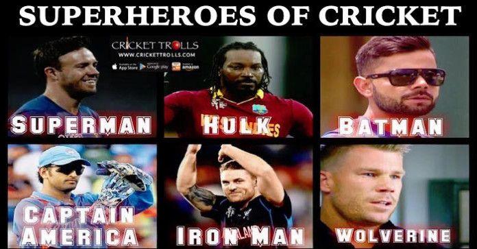 #VivoIPL #IPL9 #IPL2016 #T20 Cricket Trolls  Superheroes of International Cricket AB de Villiers, Chris Gayle-SPARTAN, Virat Kohli, MS Dhoni Brendon McCullum and David Warner  http://www.crickettrolls.com/2016/04/02/superheroes-of-cricket/