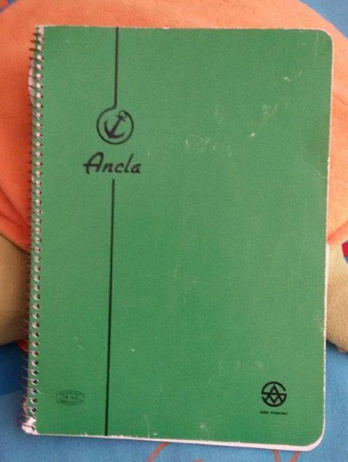 Los cuadernos que comprábamos en EGB