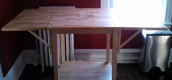Expandable Bar Table - IKEA Hackers