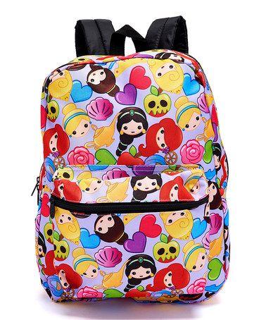 http://www.zulily.com/invite/kripley070 Love this Disney Princess Emoji Backpack on #zulily! #zulilyfinds