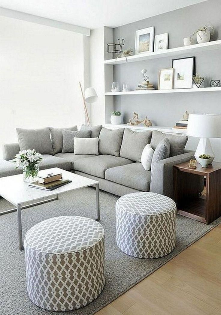 30 Stylish Gray Living Room Ideas To Inspire You Small Modern Living Room Living Room Decor Apartment Modern Minimalist Living Room