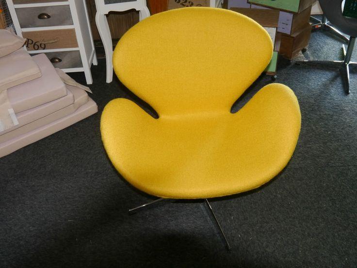 Clubsessel Egg Chair Schalensessel Drehsessel Cocktailsessel Sessel Gelb PATCH in Möbel & Wohnen, Möbel, Sofas & Sessel | eBay!