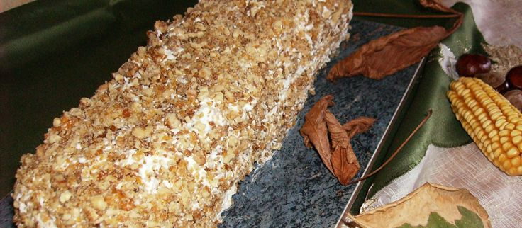 Tiramisu cu nuci caramelizate