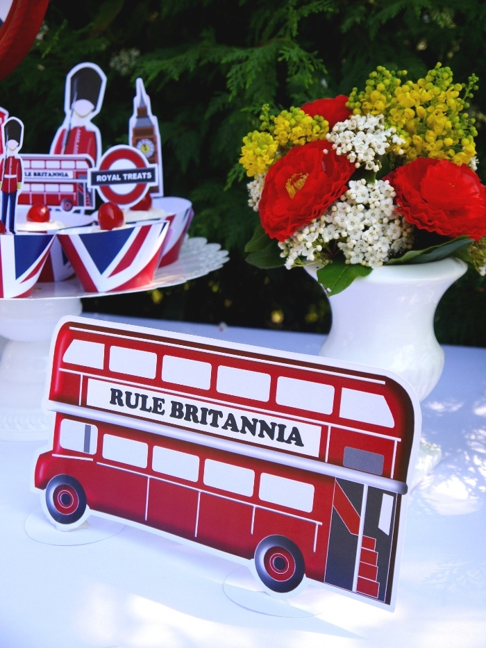 British UK party London party decor