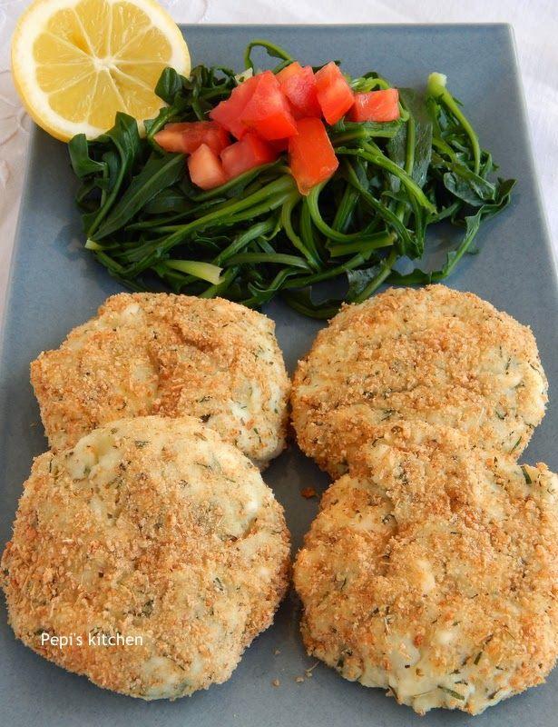 Πατατοκεφτέδες στο φούρνο http://pepiskitchen.blogspot.gr/2012/09/blog-post.html
