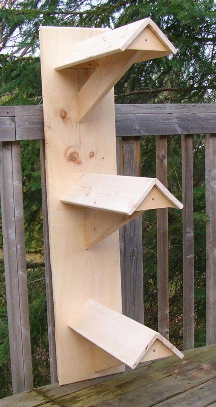 "Wooden Wall Saddle Rack ""Brooke"" - Triple"