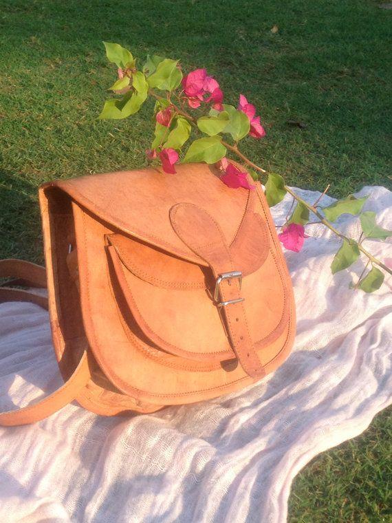 Sale 11 leather satchel messenger handbag crossbody by HaveliEast