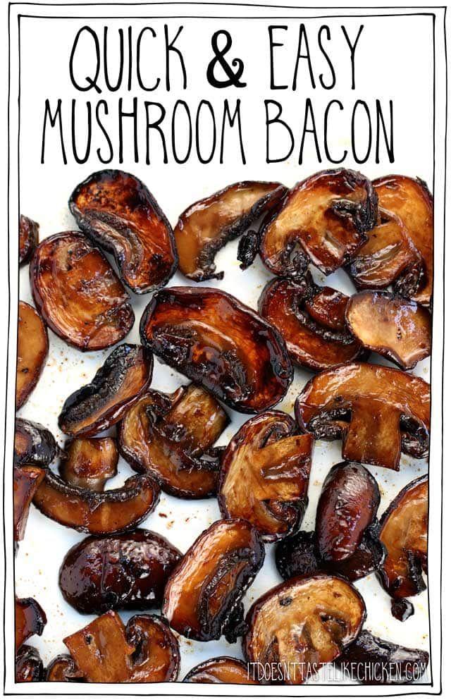 Quick Easy Mushroom Bacon