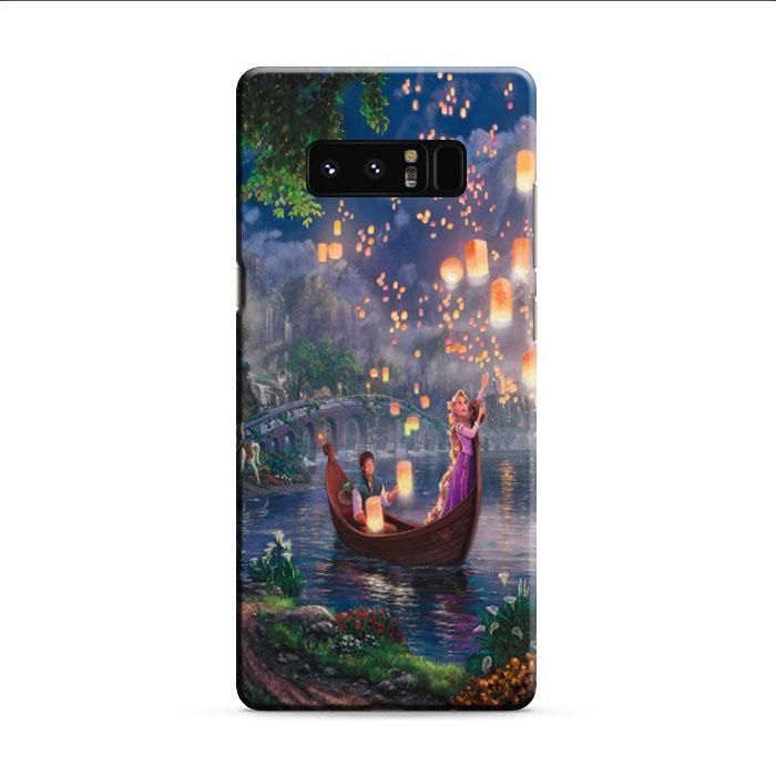 Tangled Cartoon Lantern Samsung Galaxy Note 8 3D Case