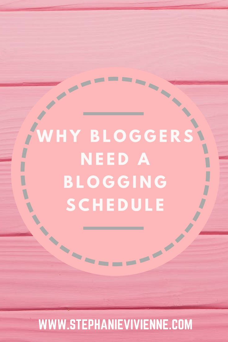 Here are the reasons why bloggers need a blogging schedule to have a successful blog // blogging for beginners // blogging tips