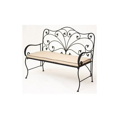 Iron bench seating