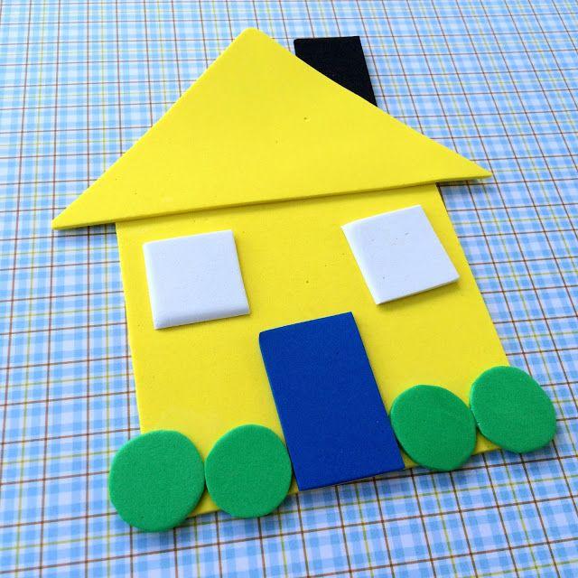 Little Family Fun: Shape House - Educational Craft