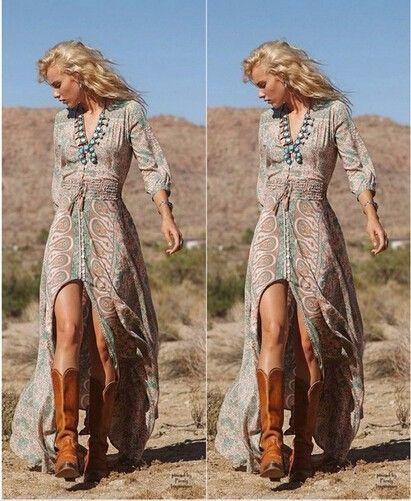 Aliexpress.com: Comprar Vestido de verano 2015 print mujeres maxi vestido largo plisado sin mangas o cuello flojo de la gasa sexy vestido palabra de longitud vestidos longo de vestido de verificación fiable proveedores en Campsnail