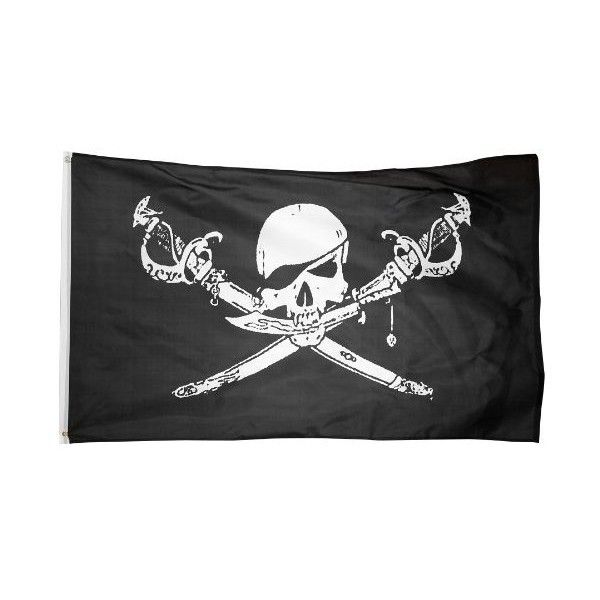 US Flag Store Printed Polyester Pirate Brethren of The Coast Flag, 3... (16 BRL) ❤ liked on Polyvore featuring home, outdoors, outdoor decor, backgrounds, flag, pirate, outdoor, outdoor garden decor and outdoor patio decor