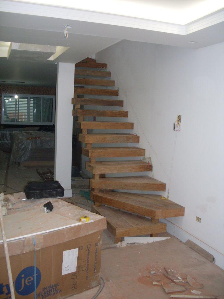 escada de madeira rustica 2