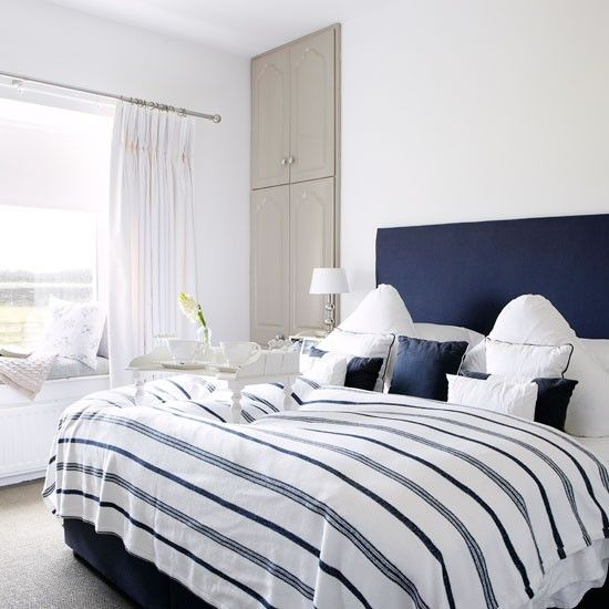 Be inspired by a coastal cottage in County Down  Navy White BedroomsBedroom. 17 Best ideas about Navy White Bedrooms on Pinterest   Blue