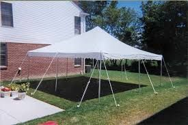 Rent quality tents at most affordable prices for your next outdoor party, banquet, backyard wedding, or corporate events and make your event bigger, brighter and memorable. Our large inventory of party rental consists of party tents, canopies, tent accessories, tent lighting on rent in Crystal Lake and nearby NW Suburbs. For more assistance call on 847.394.8213