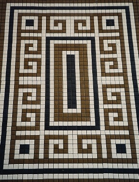 DIY Greco-Roman tiled floors can be simple if you take the time.