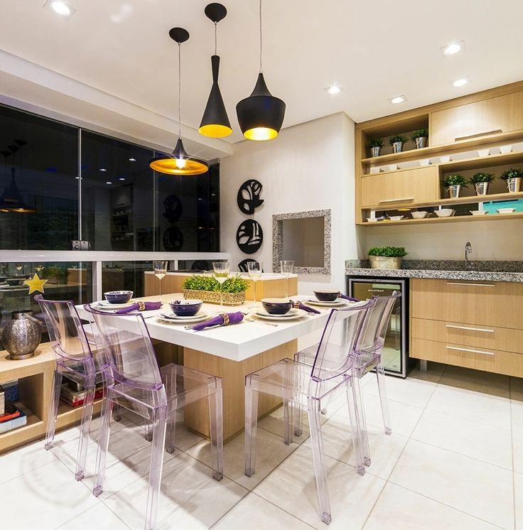 balcony / varanda / apartamento decorado / home decor / bohrer arquitetura / interior design