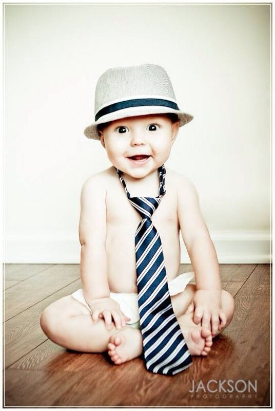 Corban's six month picture. My favorite photo ever!