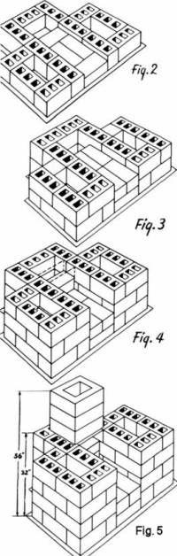 outdoor brick fireplace design_construction
