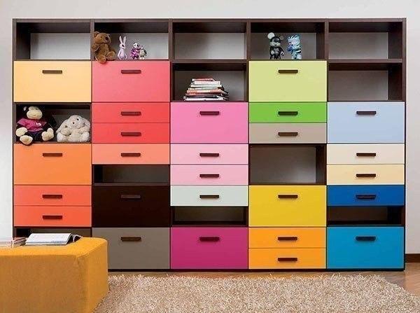 Яркий и функциональный шкаф для экономии пространства!  #жкнауковый