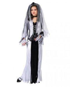Zombie Braut Kinderkostüm – Halloween