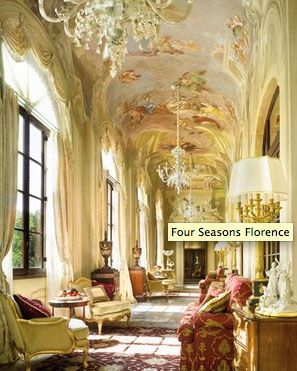 four seaons Florence Hotel Interior Designs
