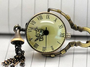 #BidOnTophatterQuartz Pocket, Chains Quartz, Pocket Watches, Bronze Necklaces, Necklaces Chains, Vintage Antiques, Watches Necklaces, Antiques Bronze, Ball Watches