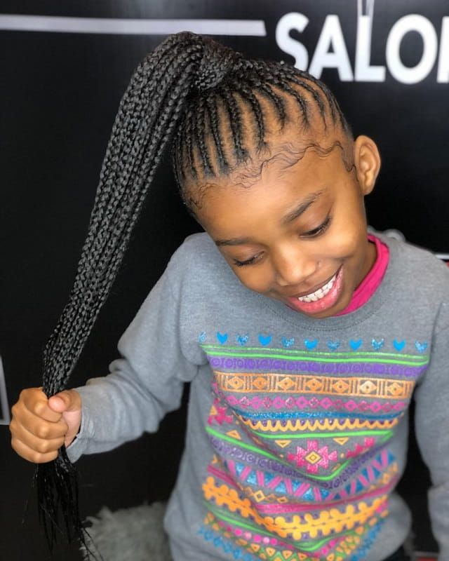 10 Adorable Weave Hairstyles for Little Girls to Explore ...