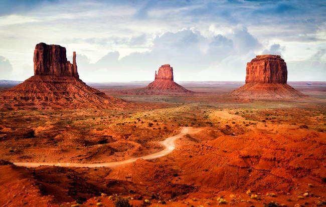 5.) Monument Valley Park, Arizona and Utah
