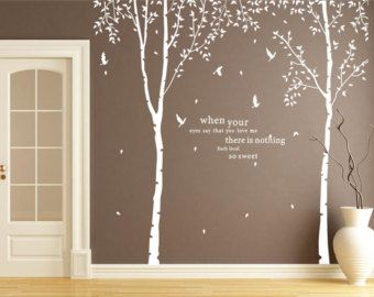 Tree Wall Decals Tree Branch Wall Stickers Tree Wall By WallArtDIY Part 68