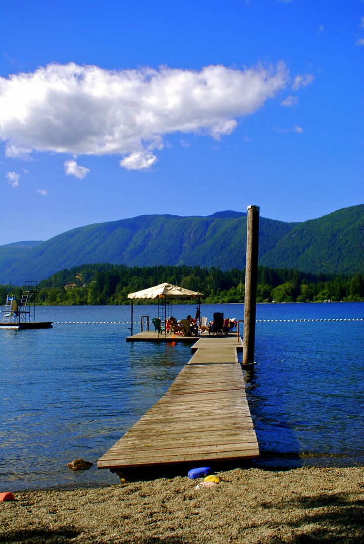 Lake Cowichan, BC. [photo by Emily Langevin]
