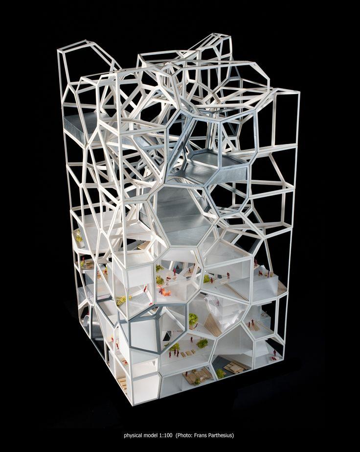 Vertical Village01_physical model