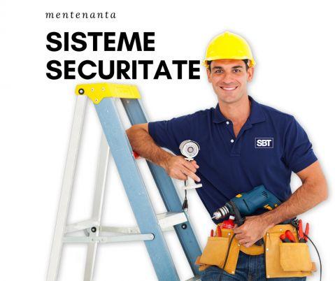 Mentenanta la sistemele de securitate este importanta si obligatorie