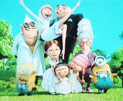Despicable Me 2 family