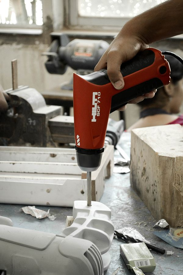 Hilti Compact Hammer Drill on Behance