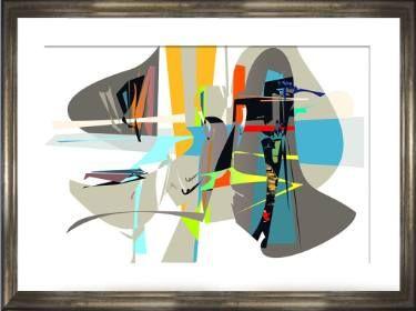 "Saatchi Art Artist Hernan Paravic; Printmaking, ""UKILLANDO 2017- 8 - Limited Edition 1 of 1"" #art"
