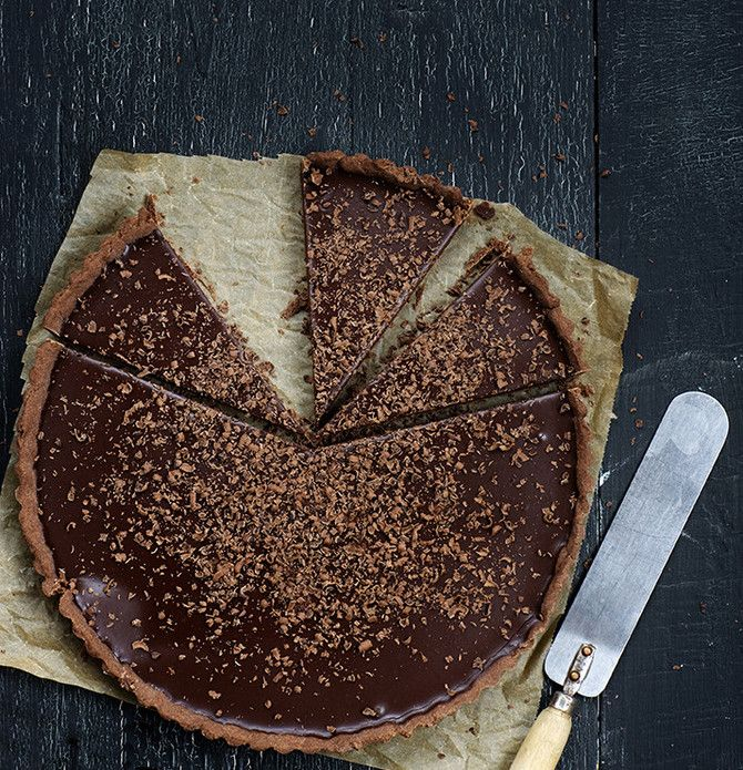 Glögi-suklaapiiras, Mulledwine chocolate pie