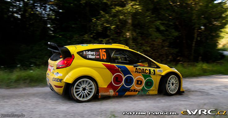 2011 Germany: Henning Solberg, Ford Fiesta RS WRC, 7th