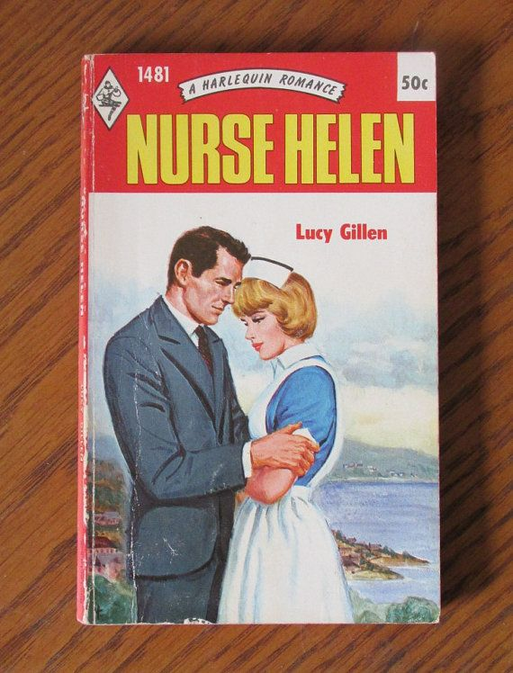 Nurse Helen Harlequin Romance novel 1971 by FindersofKeepers