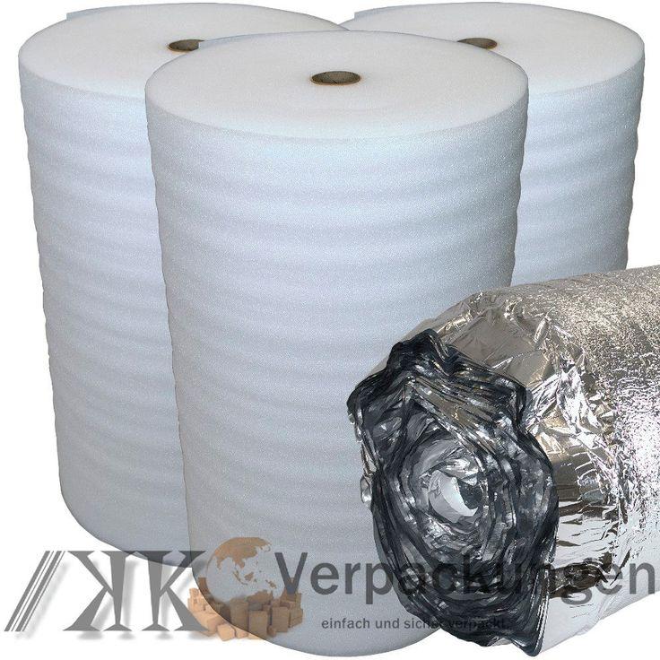 Trittschalldämmung PE Schaum für Laminat Parkett als Unterlage Dampfsperre Alu in Heimwerker, Bodenbeläge & Fliesen, Trittschalldämmung | eBay!