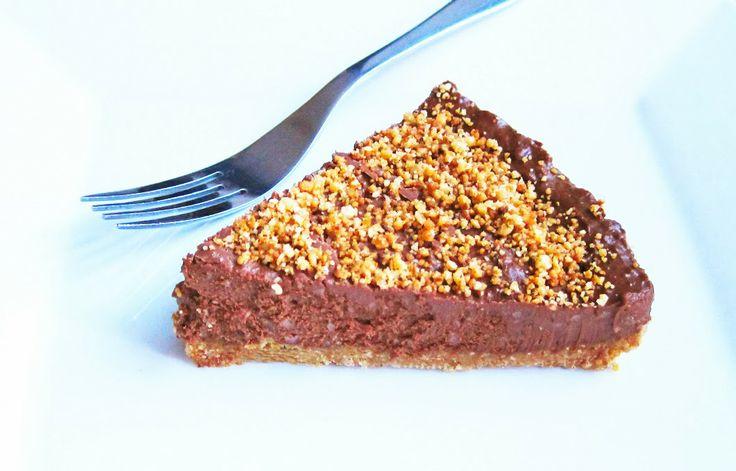 Just Bake: Chocolate Baileys and Macadamia Nut Cheesecake