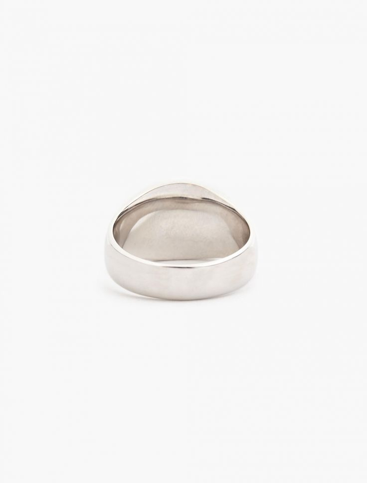 Square signet ring #1 TOM WOOD