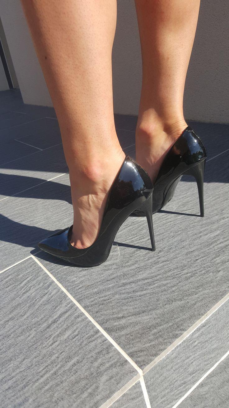 Escarpins noirs – Vernis