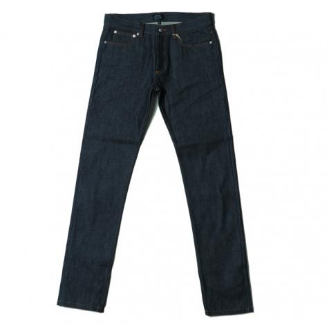 Denim fans are obsessed with A.P.C. jeans ($175), so you can't go wrong with this gift. And if it's their first pair, just remind them you rarely need to wash these French jeans.: Jeans 175, A Mini-Saia Jeans, Denim Fans,  Blue Jeans, French Jeans, Holidays Gifts, Gifts Guide, Gifts Perfect, 2011 Gifts