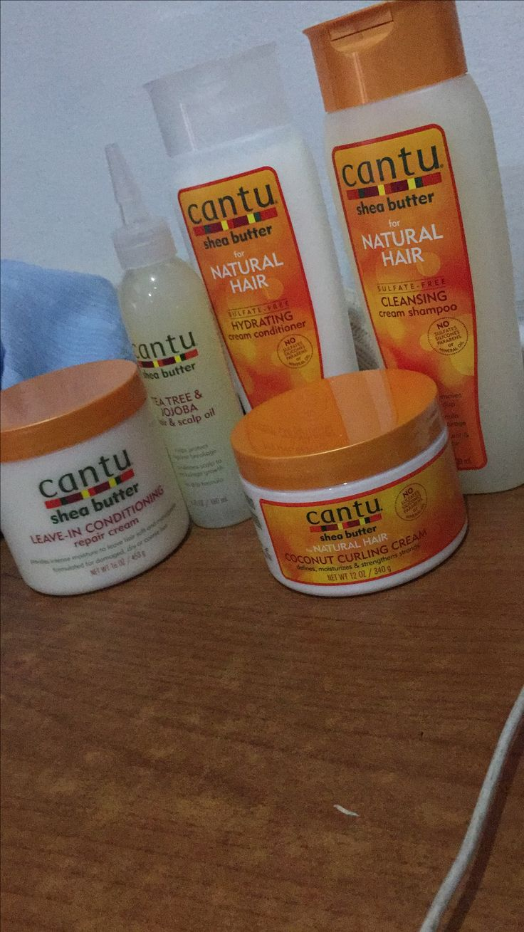 Cantu hair products for coily hair