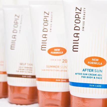Mila d'Opiz Australia - don't forget it is still important to protect your skin from the sun's rays in Winter!
